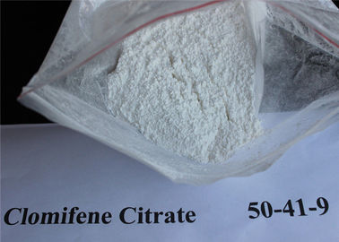 CAS 50-41-9 Clomid / Clomiphene Citrate Powder, Raw Steroid Powders